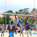 Sekda Muba Buka Turnamen Volly Ball Irmas Cup 2021